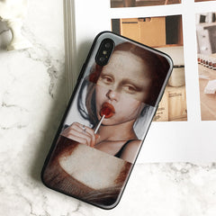 Mona Lisa Lolly iPhone Case