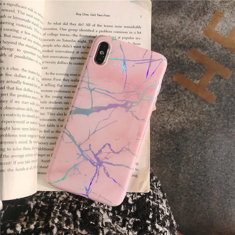 Laser Marble iPhone Case