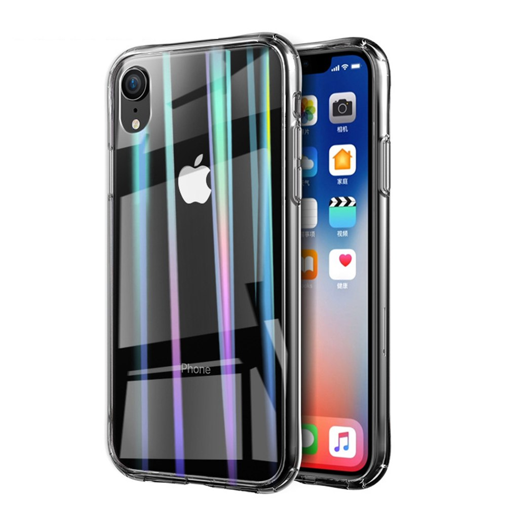 Aurora Holo Transparent iPhone Case