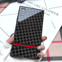 Luxury Square Glass iPhone Case