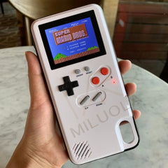 Colorful Display GameBoy iPhone Case