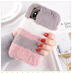 Plush Rabbit Fur iPhone Case