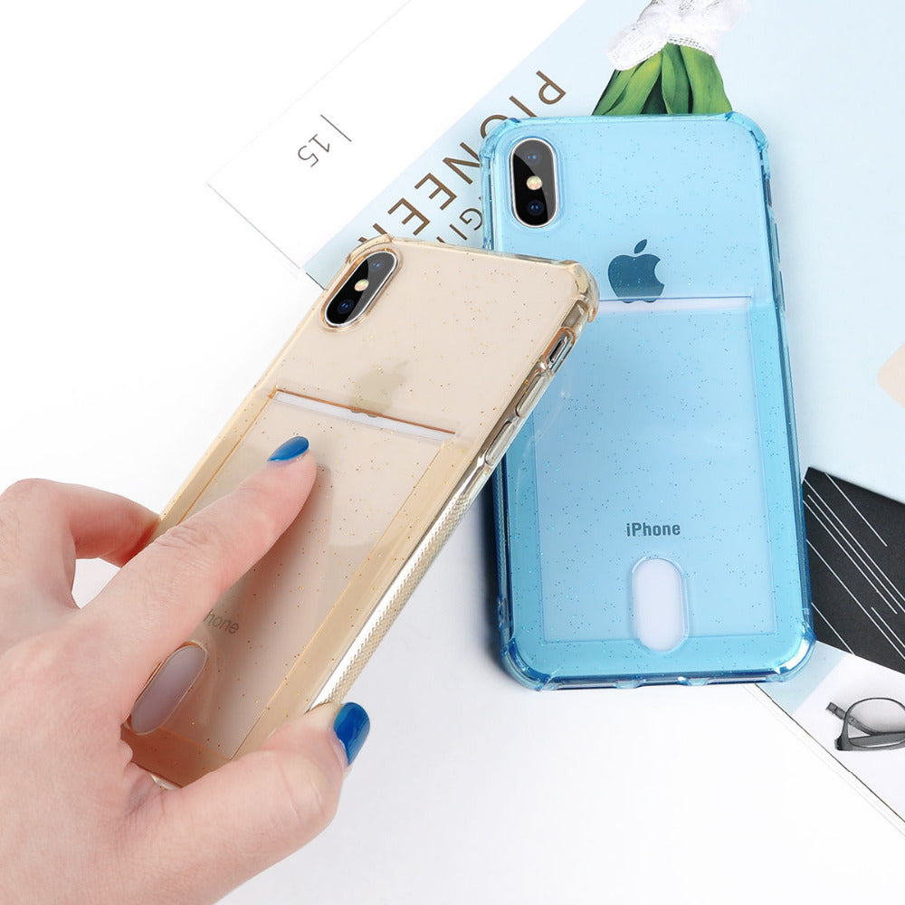 Card Holder Anti-Knock iPhone Case