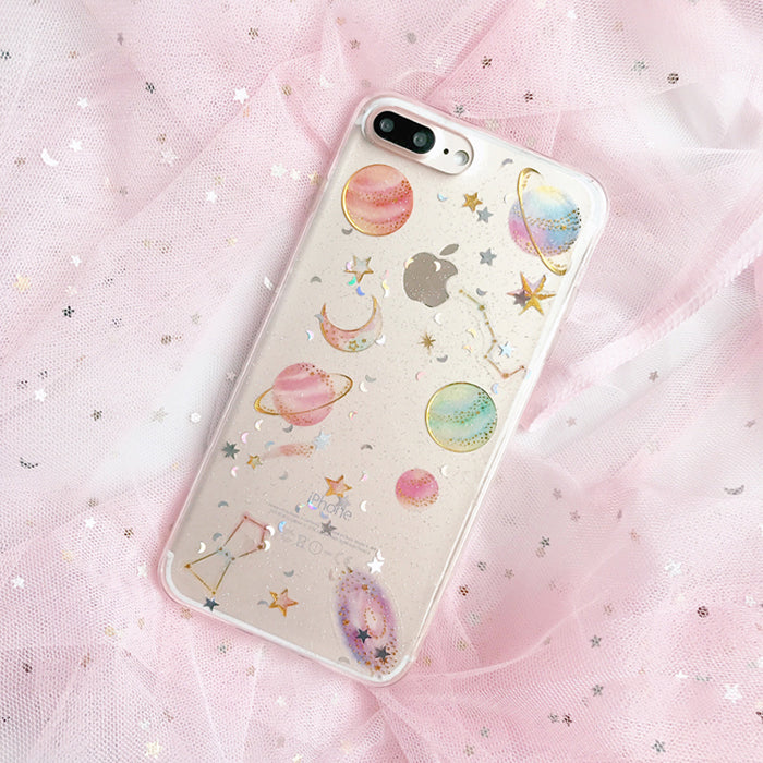 various colors e9ad8 a5a49 3D Candy Space iPhone Case – Mermaid Case