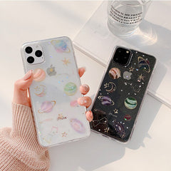 3D Candy Space iPhone Case