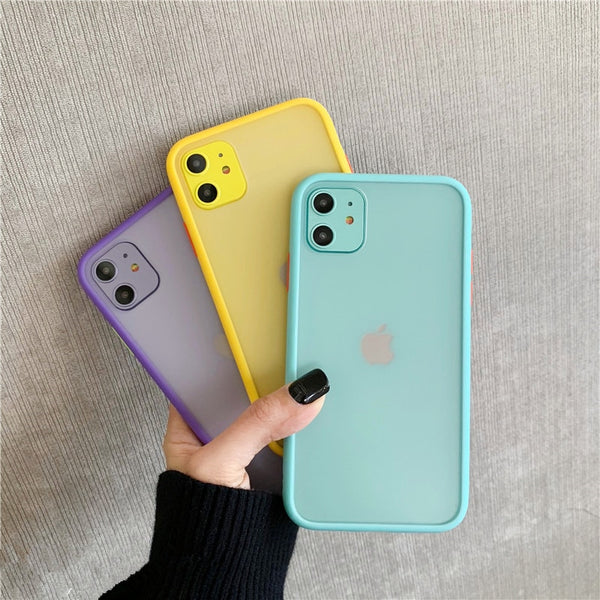 Matte Shockproof iPhone Case