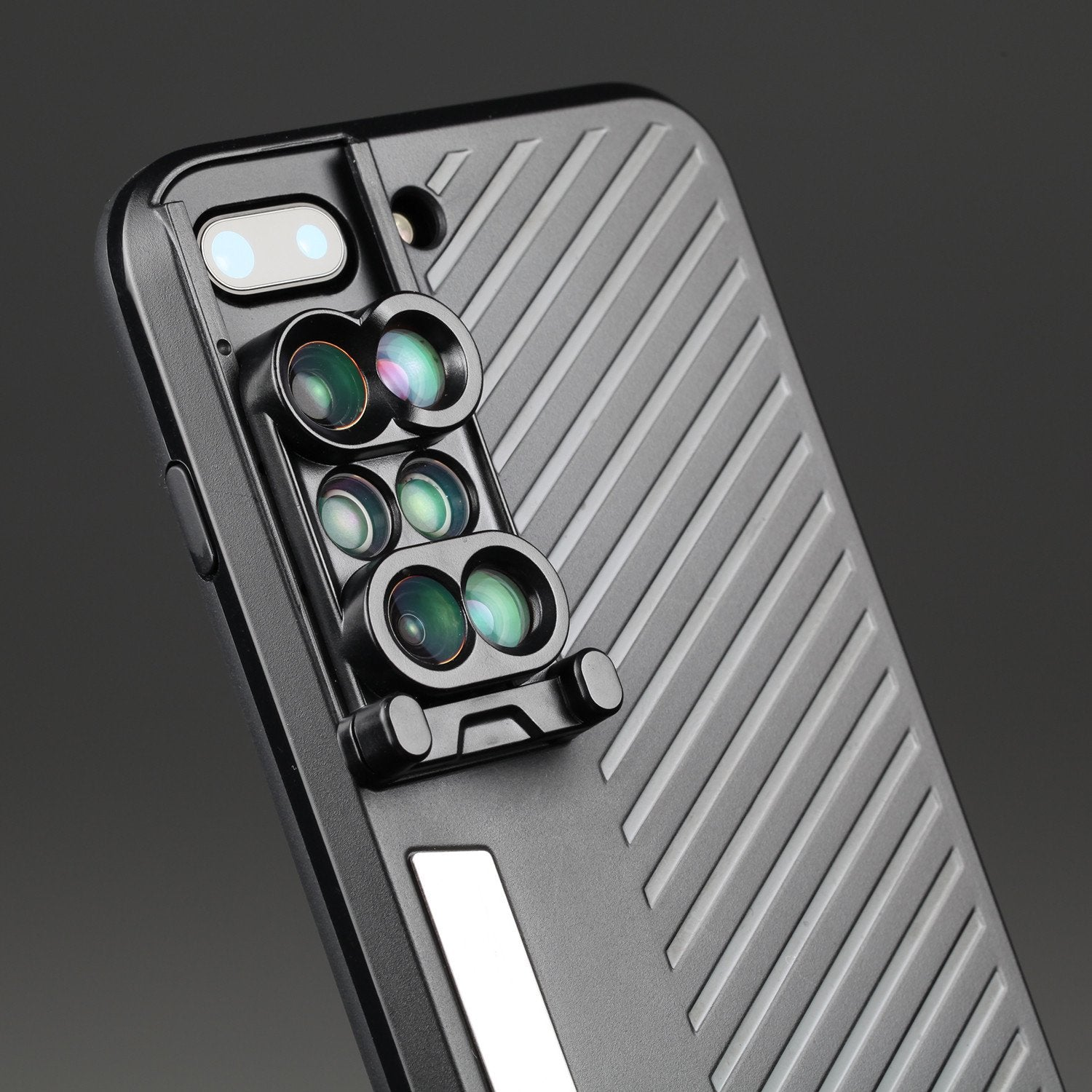 Dual Optics Lens Kit Case for iPhone