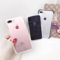 Anti-Knock Transparent iPhone Case