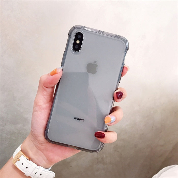 Shockproof Transparent iPhone Case