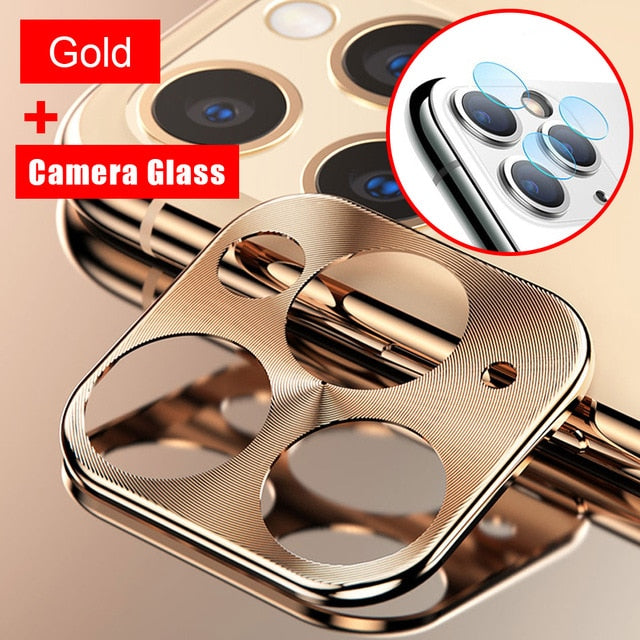 Metal Camera Lens Protector for iPhone