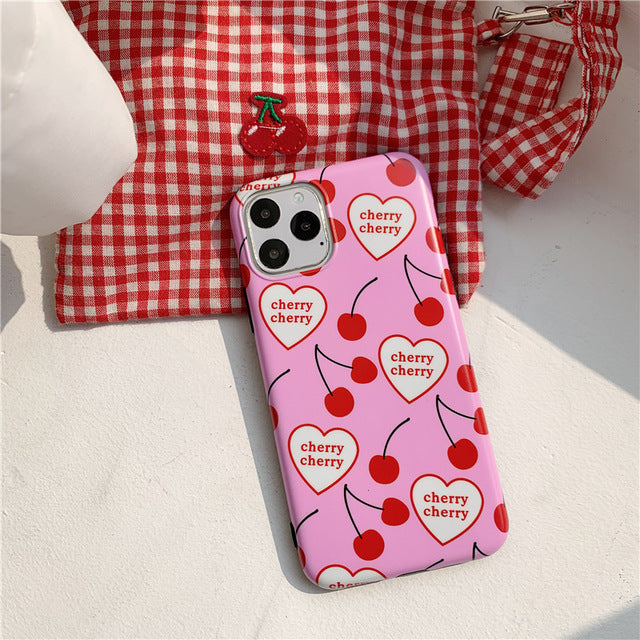 Cherry Love iPhone Case