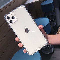 Clear Shockproof iPhone Case