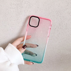 Pastel Gradient Shockproof iPhone Case