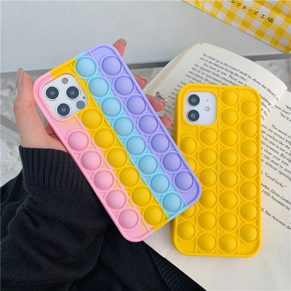 Pop It Fidget iPhone Case