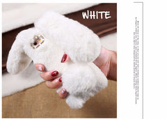 Rabbit Faux Fur iPhone Case
