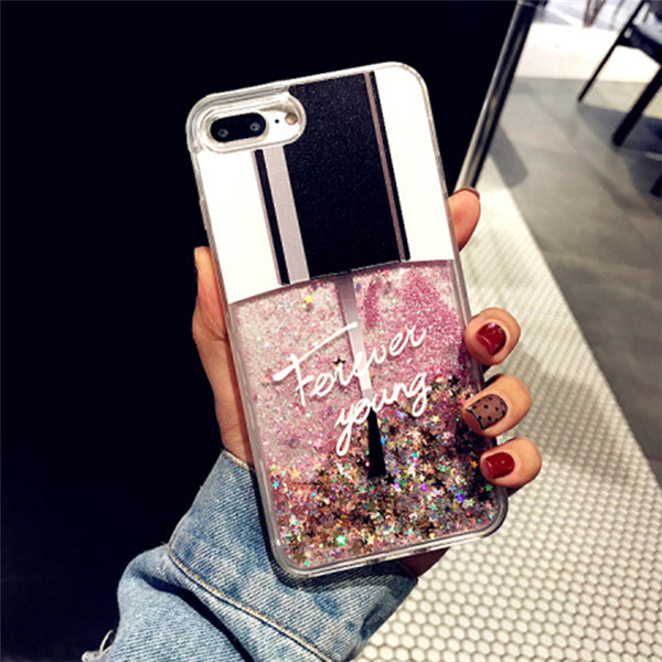 Nail Polish Liquad Quicksand iPhone Case