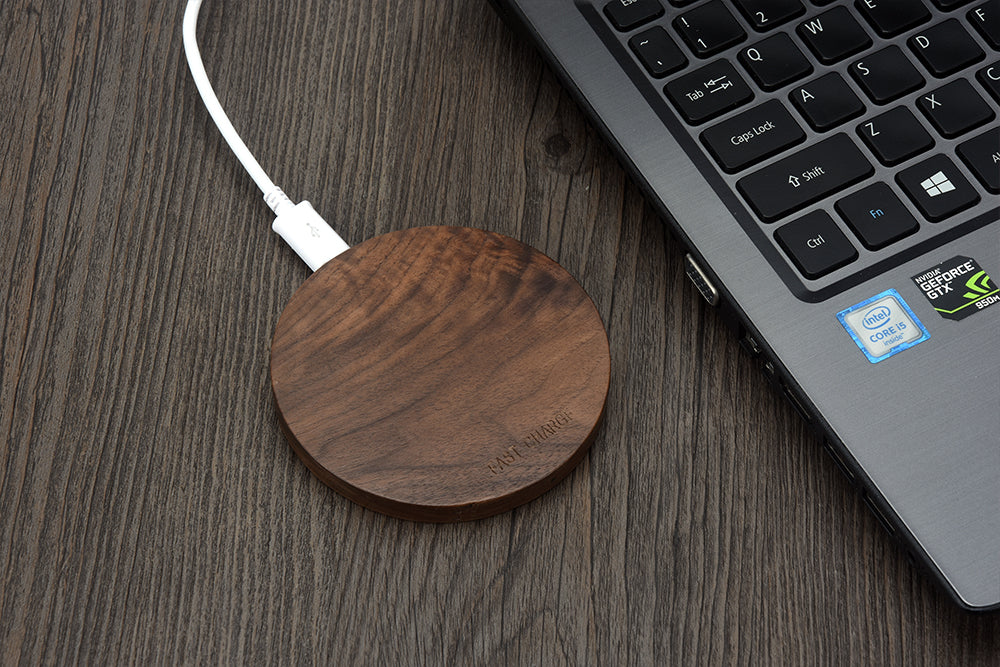 Wooden Wireless Charger Pad