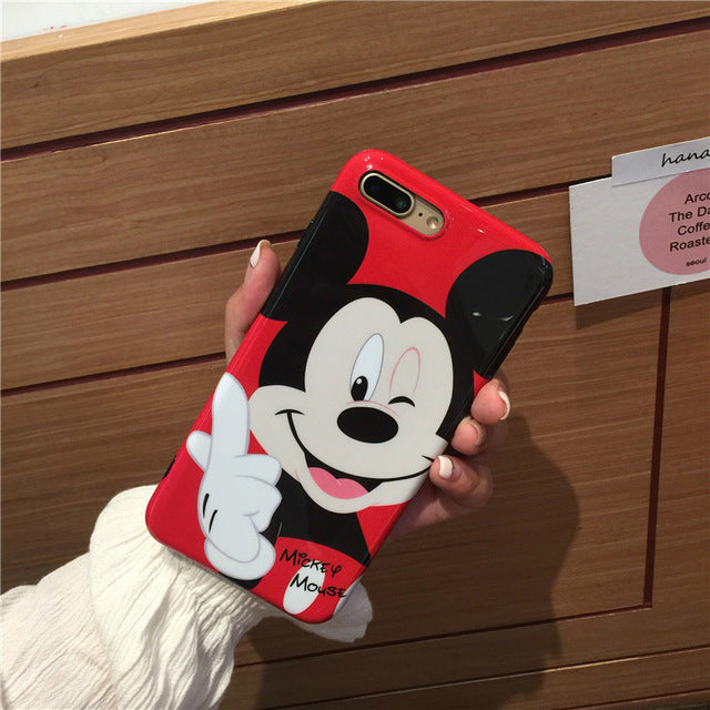 Cute Cartoons Pattern iPhone Case