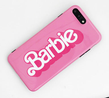 check out 886bb 92e70 Barbie Pink Glossy iPhone Case – Mermaid Case
