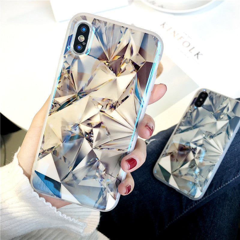 Blu-Ray Diamond Patterned iPhone Case