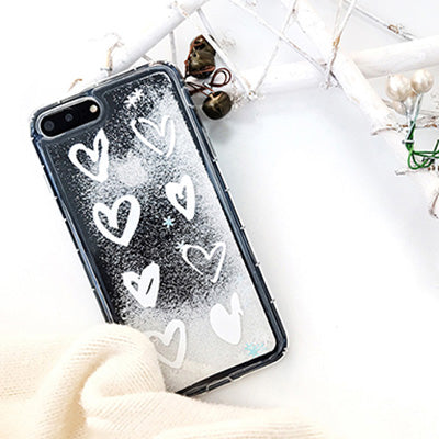 Snowflake Glitter iPhone Case