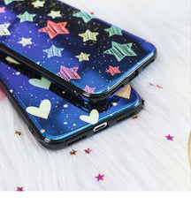 Blu-Ray Mirror Heart Star iPhone Case