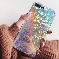 Shiny Geometry Pattern iPhone Case