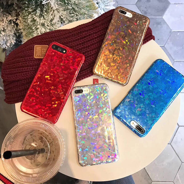 Laser Shiny Sequins iPhone Case