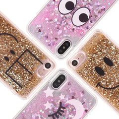 Smile&Nice Liquid Glitter iPhone Case