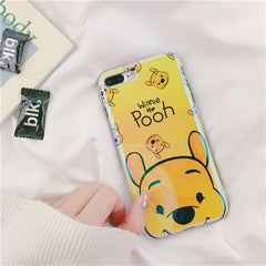 Winnie the Pooh and Piglet iPhone Case