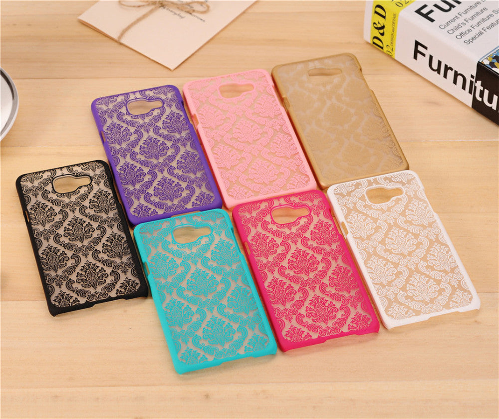 Flower Pattern Samsung Case