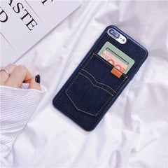 Denim Pocket iPhone Case