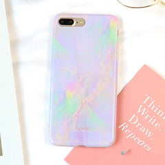 Colorful Granite Marble iPhone Case