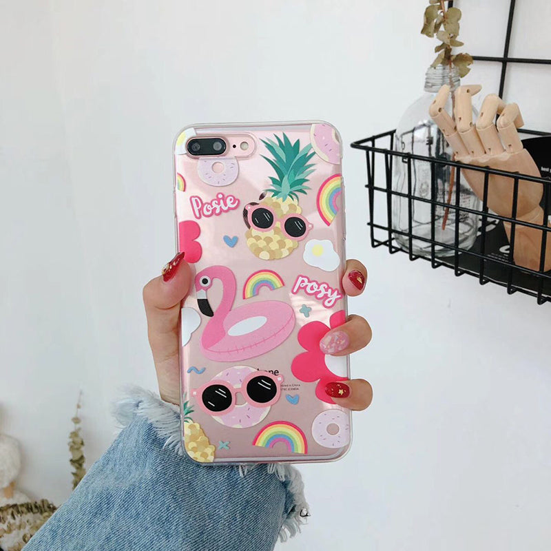Summer Icons iPhone Case