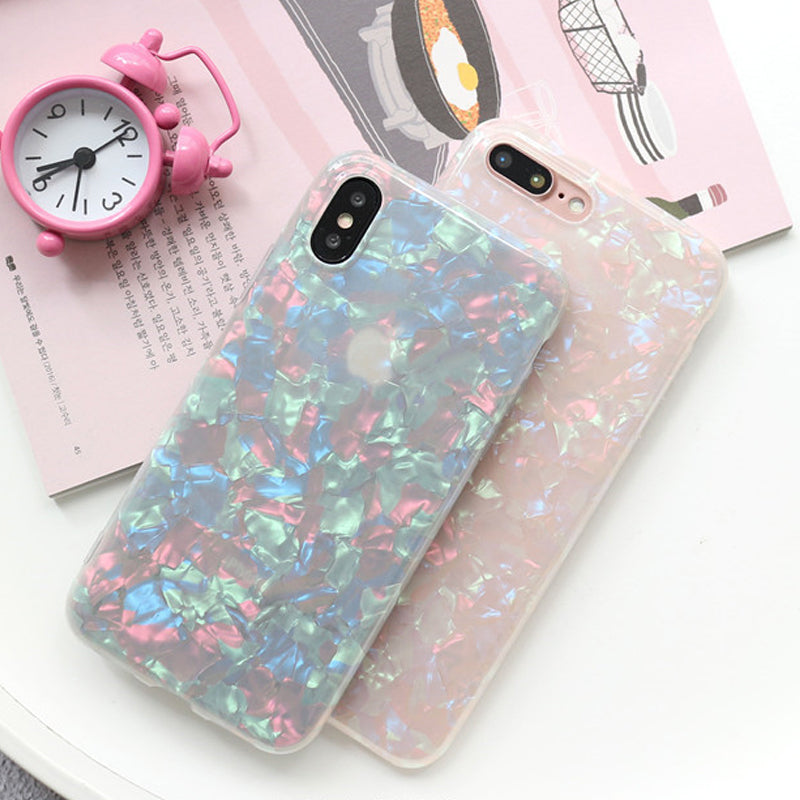 Colorful Gradient Shell iPhone Case
