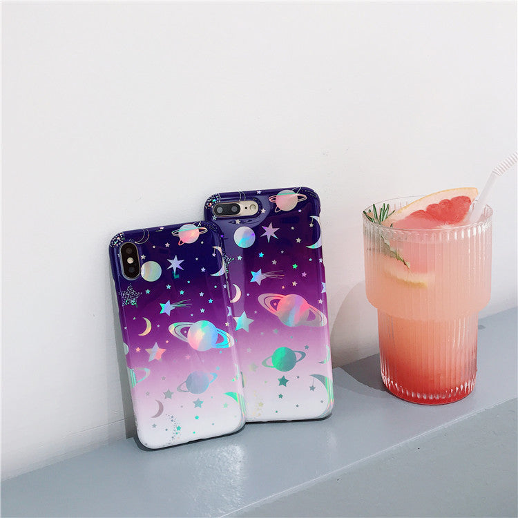 Holo Space Planet iPhone Case