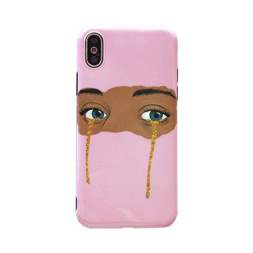 Golden Tears iPhone Case