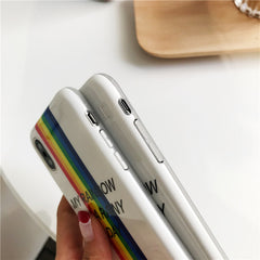 Colorful Rainbow iPhone Case