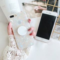 Gradient Shell + Holder iPhone Case