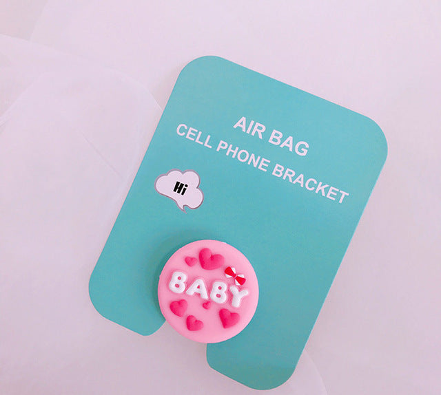 Cute Characters Phone Finger Holder