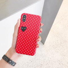 Soft Comme des Garcons iPhone Case