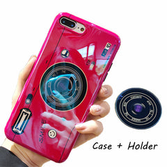 Laser Camera + Holder iPhone Case