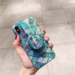 Mermaid Scales + Holder iPhone Case