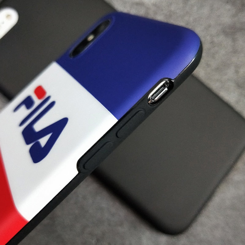 FILA Sports Soft iPhone Case