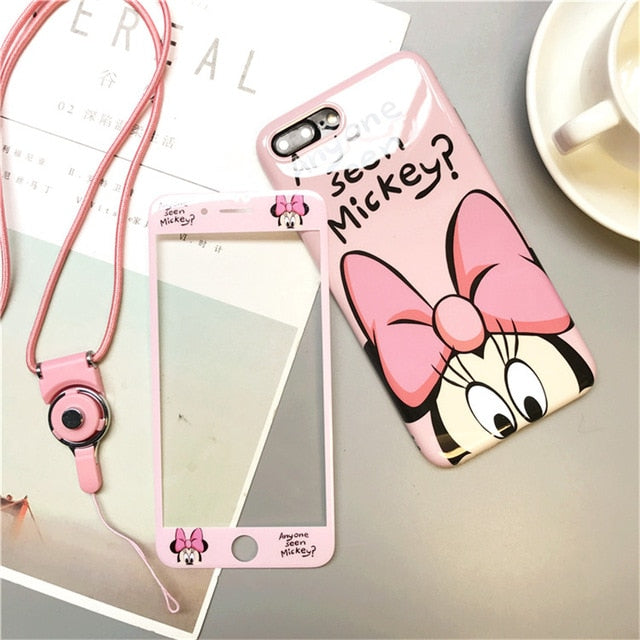 360 Full Cover Cartoon iPhone Case