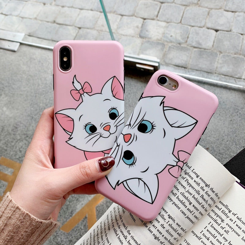 Marie Cat Cartoon iPhone Case