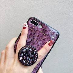 Emerald Marble + Holder iPhone Case