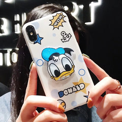 Cute Characters Squishy iPhone Case