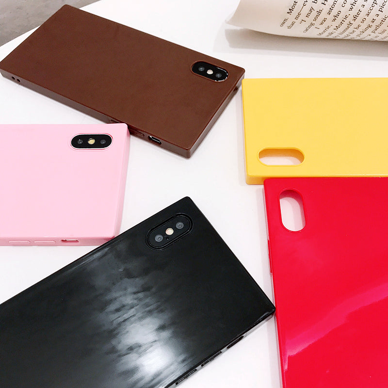 Candy Colors Square iPhone Case