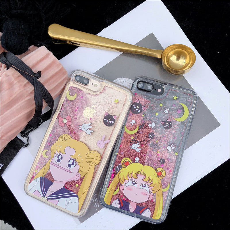Sailor Moon Glitter iPhone Case